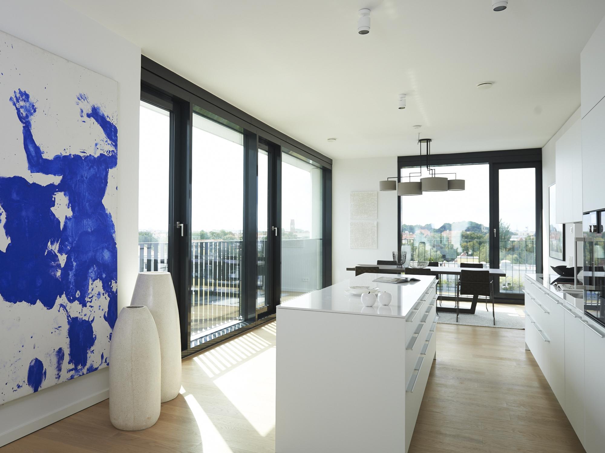 Küche im Design Pure